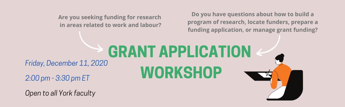 Grant Application Workshop
