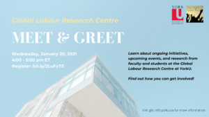 GLRC Meet & Greet Winter 2021