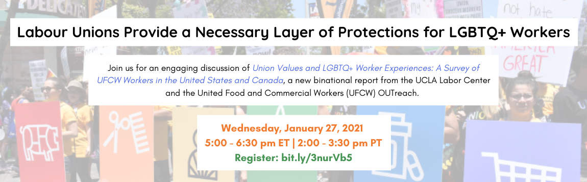 Union Values and LGBTQ+ Worker Experiences