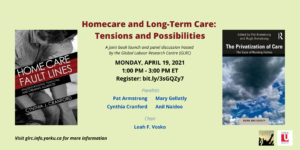 Homecare and Long-Term Care: Tensions and Possibilities